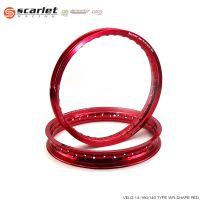 VELG SCARLET 14160140 WR SHAPE RED